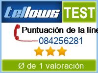 tellows Bewertung 084256281